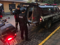 Polícia prende suspeitos de participação em assaltos em São Sepé