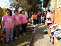 Liga Feminina de Combate ao Câncer realiza brechó em São Sepé