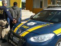 Suspeito de assalto em Caçapava do Sul é preso pela PRF