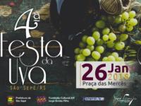 Festa da Uva de São Sepé acontece em janeiro de 2018