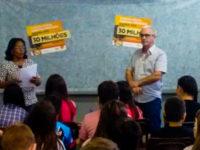 Educação fiscal foi tema de palestra para alunos do Mário Deluy