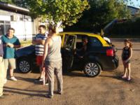 PRF flagra carro argentino com excesso de ocupantes na BR-290
