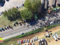Encerra manifestação de caminhoneiros na BR-392, em São Sepé