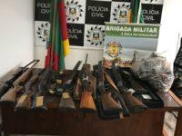 Polícia cumpre mandados e apreende armas em Formigueiro