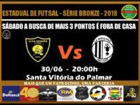 La Máquina joga em Santa Vitória do Palmar pela Série Bronze neste sábado