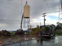 Vila Block recebe novo reservatório de água