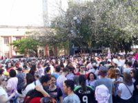 Santa Maria teve protesto contra presidenciável Jair Bolsonaro