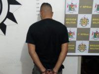 Brigada Militar apreende arma e droga durante abordagem em São Sepé