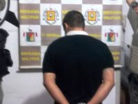 Foragido é preso pela Brigada Militar