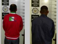 Dois são presos após morte de três pessoas em Restinga Sêca