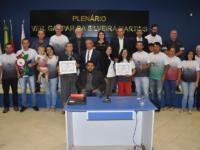 Sessão da Câmara de São Sepé foi marcada por homenagens