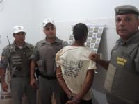 Brigada Militar prende acusado de assaltar taxista em São Sepé