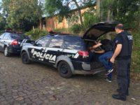Operação contra o tráfico de drogas mobiliza Polícia Civil na Região Central