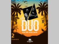 AM Duo é atração no Garden Beer no próximo sábado