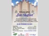Festa em louvor a São Rafael acontece em fevereiro