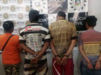 Polícia faz prisões durante cumprimento de mandado de busca e apreensão em São Sepé