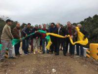 Comunidade do interior recebe nova ponte de concreto