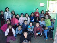 Alunos fazem doação e conhecem dia a dia de asilo em São Sepé