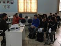 Estudantes de Formigueiro recebem orientações para serem vereadores por um dia