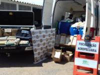 Fiscalização apreende produtos em São Sepé