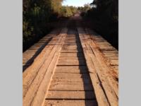 Ponte no interior de São Sepé é interditada para conserto