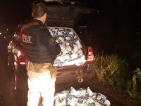 Após tentativa de fuga, PRF apreende carga de agrotóxicos
