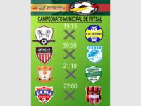 1ª Divisão do Campeonato de Futsal começa nesta quinta em São Sepé