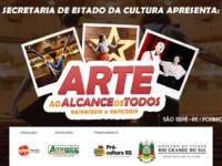 "Projeto ""Arte ao Alcance de Todos"" contempla atividades culturais"