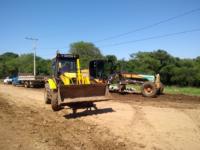 Avenida de Formigueiro recebe obra de pavimentação