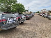"""Operação """"Tentáculos II"""" mobiliza polícias da região em São Sepé"""