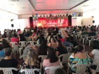 Evento marcou reabertura do ano letivo em São Sepé