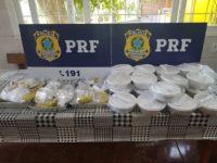 """PRF promove Campanha """"Siga em Frente, Caminhoneiro"""" em São Sepé e Santa Maria"""