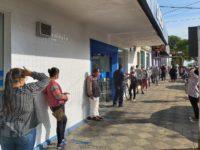 Agência da Caixa registra grande movimento e filas em São Sepé