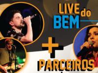 Neste sábado tem live solidária com Márcio Pereira, Mateus Roloff e Zizi Machado