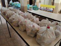 Estudantes carentes recebem kits alimentação em Formigueiro