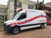 Nova ambulância é entregue em São Sepé