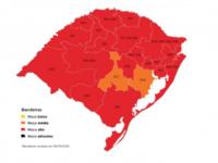 Mapa do Distanciamento Controlado deixa São Sepé em bandeira vermelha
