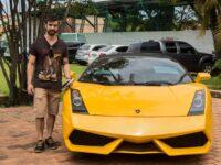 Jovem criado em São Sepé ganha mídia após adquirir Lamborghini em leilão no Paraguai