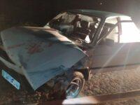 Acidente entre carro e caminhão deixa um ferido em São Sepé