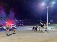 Brigada Militar e PRF fizeram barreira próximo ao acesso para São Sepé