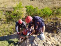 Bombeiros de São Sepé participam de capacitação sobre resgate em altura