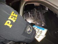 PRF recupera carro clonado e prende homem por receptação em Caçapava do Sul
