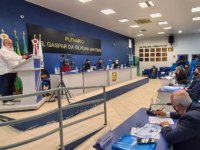 Prefeito João Luiz Vargas anuncia asfaltamento das ruas do Bairro Cristo Rei