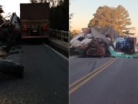 Duas pessoas morrem em acidente na BR-392