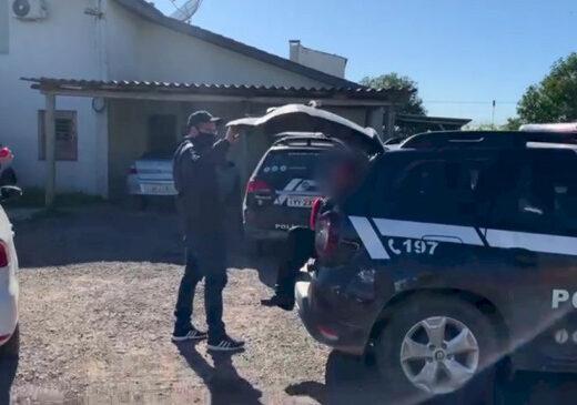 Ação conjunta da Polícia Civil tem prisões em Caçapava do Sul
