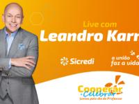 Sicredi promove palestra com Leandro Karnal