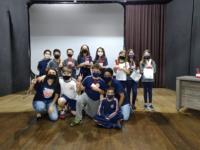 """Final do """"The Voice da Redação"""" mobiliza alunos da Escola João XXIII em São Sepé"""